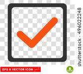 vector checkbox eps vector icon....