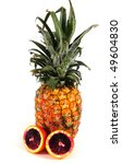 pineapple   orange | Shutterstock . vector #49604830
