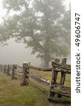Beautiful Old Split Rail Fence...