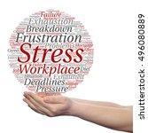 concept conceptual mental... | Shutterstock . vector #496080889