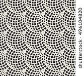 vector seamless black and white ... | Shutterstock .eps vector #496104820