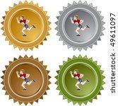 runner | Shutterstock .eps vector #49611097