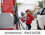 bangkok. thailand. september 28 ... | Shutterstock . vector #496116238
