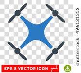 vector quadcopter eps vector...   Shutterstock .eps vector #496131253