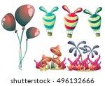 cartoon vector cute balloons...