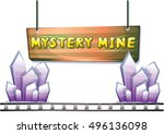 cartoon vector mine game object ...