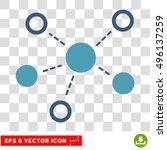 vector virtual links eps vector ...   Shutterstock .eps vector #496137259