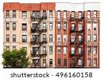 new york city vintage style... | Shutterstock . vector #496160158