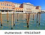 historical buildings and... | Shutterstock . vector #496165669