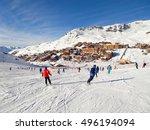 Ski Slope At Val Thorens  3...