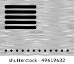 metal plate. vector. | Shutterstock .eps vector #49619632