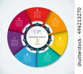 Circle Infographic Template....