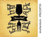 concept illustration of drink...   Shutterstock .eps vector #496218724