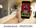 lendelede  belgium   october... | Shutterstock . vector #496251184