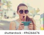 sms. closeup portrait funny... | Shutterstock . vector #496266676