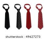 tie set | Shutterstock .eps vector #49627273