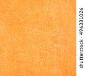 orange old grungy texture...   Shutterstock . vector #496331026