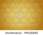 brown grunge wallpaper pattern  ... | Shutterstock .eps vector #49636840