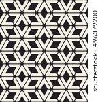 vector seamless pattern. modern ... | Shutterstock .eps vector #496379200