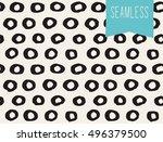 handsketched vector seamless... | Shutterstock .eps vector #496379500