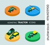 vector illustration. set of... | Shutterstock .eps vector #496405900