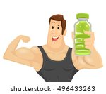 Fitness Illustration Of A...