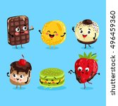 cartoon funny foods characters...
