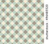 seamless abstract checkered... | Shutterstock .eps vector #496485520