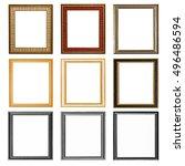 It Is Nine Wooden Frames...