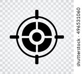 target aim icon | Shutterstock .eps vector #496531060