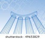 kolonnada.grunge illustrator | Shutterstock .eps vector #49653829