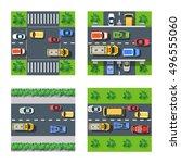 traffic transportation set of...   Shutterstock .eps vector #496555060