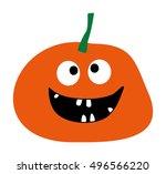 simple flat style design... | Shutterstock .eps vector #496566220