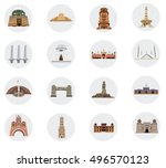 flat vector icon pack of... | Shutterstock .eps vector #496570123
