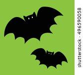 bats | Shutterstock . vector #496590058