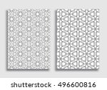 abstract geometric line...   Shutterstock .eps vector #496600816