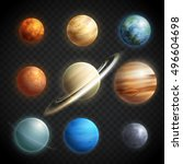 Planets Realistic Transparent...