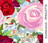 abstract illustration style...   Shutterstock .eps vector #496613776
