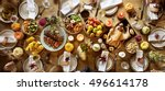 thanksgiving celebration... | Shutterstock . vector #496614178