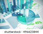 abstract blue financial... | Shutterstock . vector #496623844
