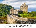 Eilean Donan Castle  Loch Duid  ...