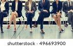 office worker teamwork employee ... | Shutterstock . vector #496693900