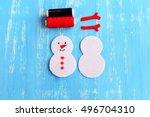 Christmas Snowman Ornament....