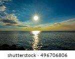 Dramatic Manila Bay Sunset...