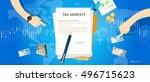 tax amnesty illustration ...   Shutterstock .eps vector #496715623