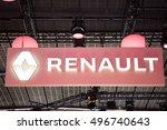 paris  france   october 11 ... | Shutterstock . vector #496740643