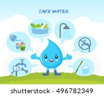 Save The Water Infographic ...