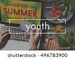 Small photo of Youth Young Teenagers Teens Adolescence Concept