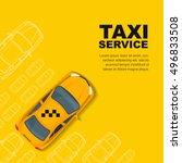 taxi service concept. vector...