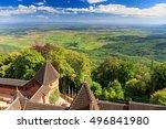 haut koenigsbourg   old castle... | Shutterstock . vector #496841980